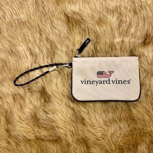Vineyard Vines Zipper Clutch Bag